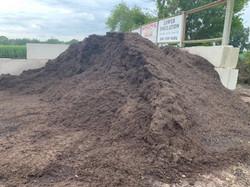 Bulk Dark Brown Mulch