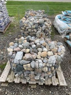 """3""""-8"""" Palletized Boulders"""