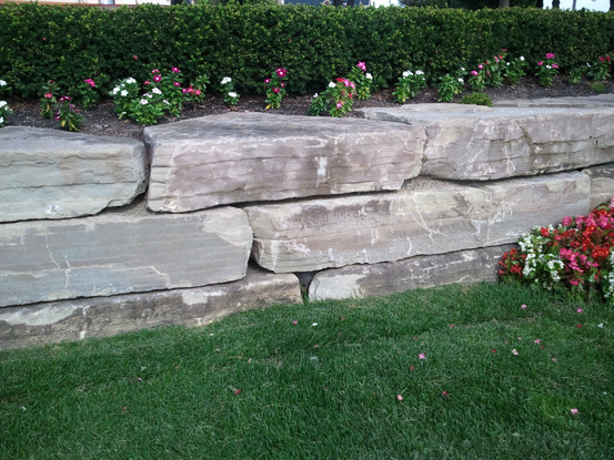 Bluestone Outcropping