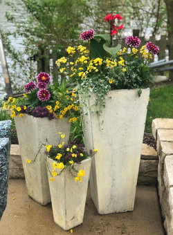 Traditional Summer Container