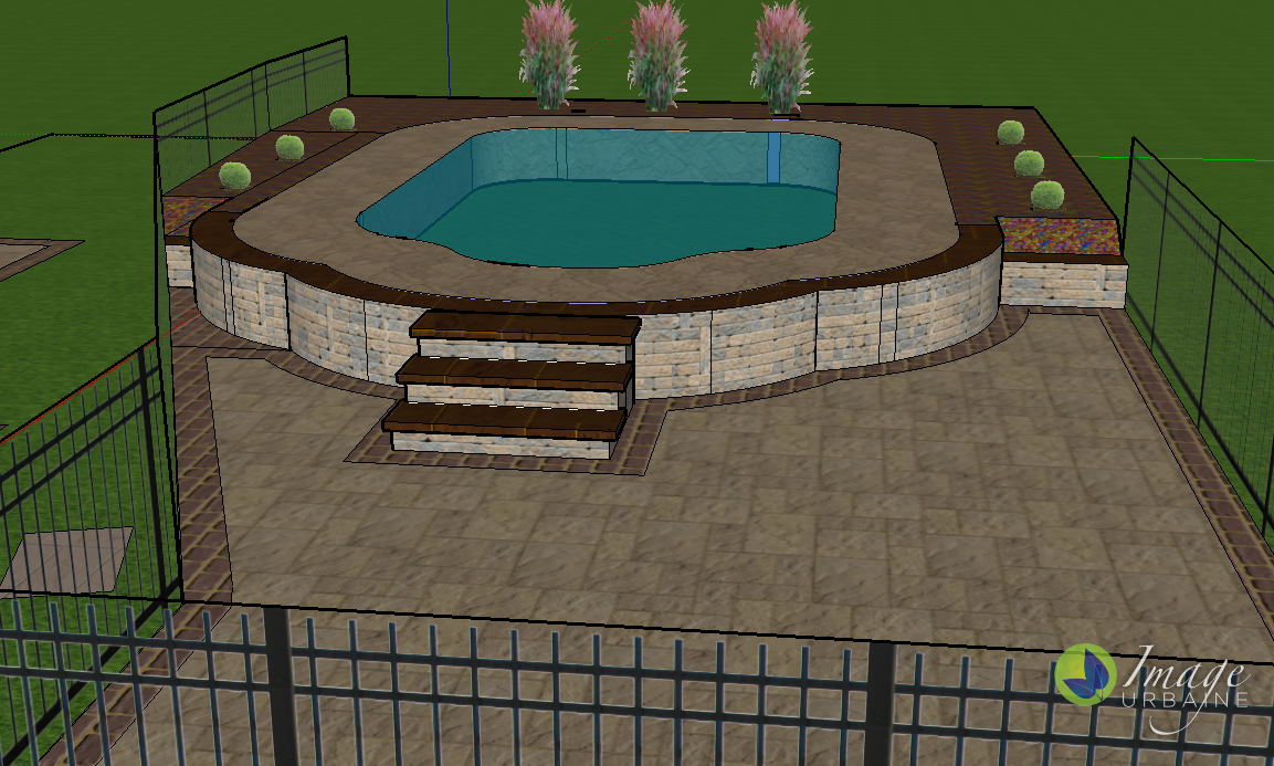 Brunswick Pool Deck Design