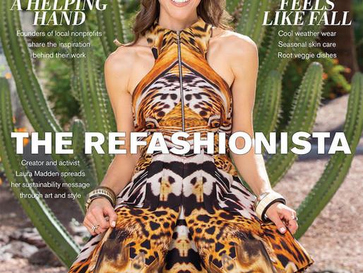 The ReFashionista, So Scottsdale Magazine Cover Feature