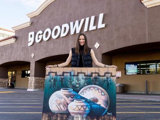 ReFashioned Art x Goodwill Flip Event 2020
