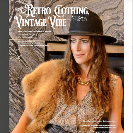 The Fashion Issue, Green Living Magazine September 2021