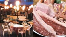 5月からはビアガーデン!厚切り牛ステーキをBBQスタイルで食べ飲み放題(4,000円)!