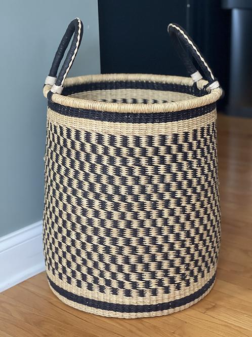 African Bolga Basket - Laundry Basket