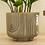 Thumbnail: Rainbow Ceramic Footed Planter