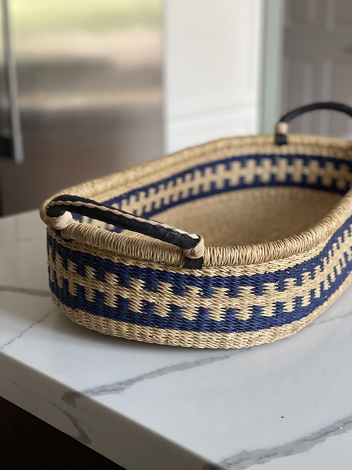 Long African Bolga Basket