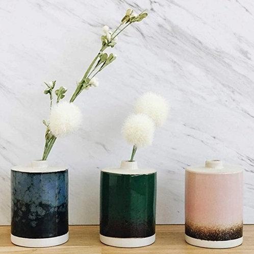 Reactive Glaze Bud Vases