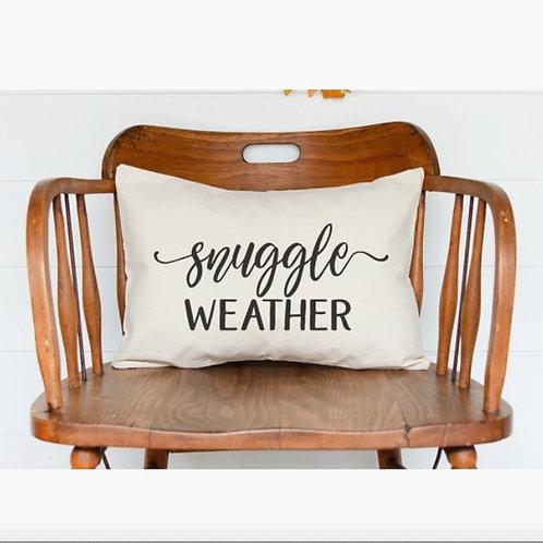 Snuggle Weather Lumbar Pillow