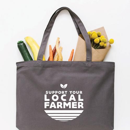 Local Farmer Tote Bag - Medium