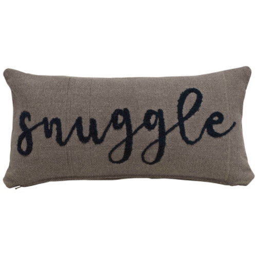 Snuggle Cotton Lumbar Pillow