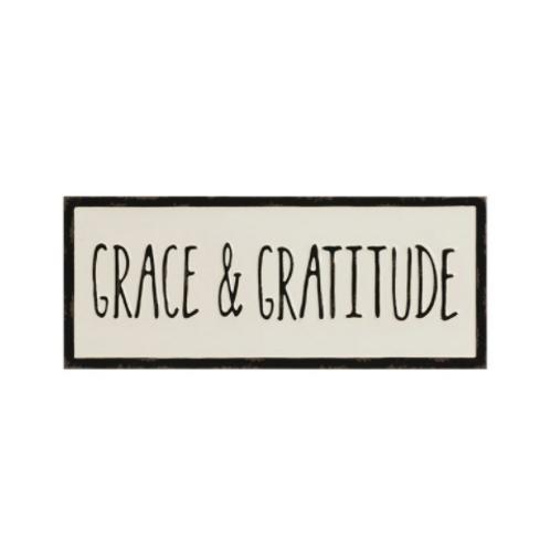 Grace & Gratitude Wall Hanging