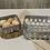 Thumbnail: 2/Set Washed Galvanized Metal Baskets
