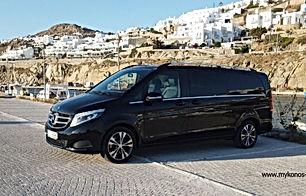 Private Driver Mykonos, Chauffeur Servic