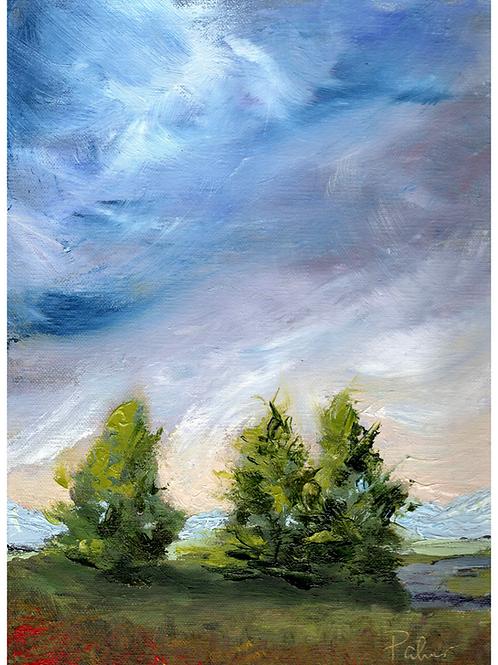 9x12 Cedar Path
