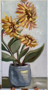 Sunflower_Day_12X24_Michelle_Palmer_Abst