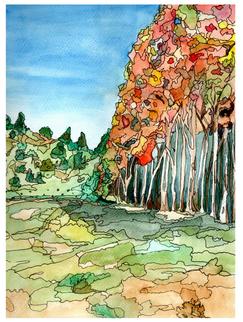 Aspen_Forest_Michelle_Palmer_Watercolor_