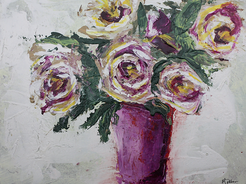 12x16 Purple Roses