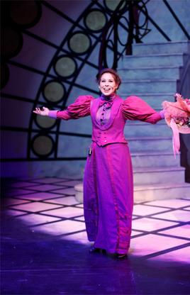 Michelle Bardach as Irene Molloy in Capilano University/Exit 22's production of Hello, Dolly! the Musical - 2012