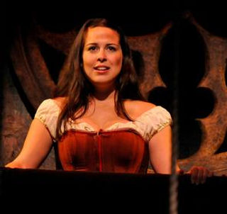 Michelle Bardach as Eponine in Les Miserables - Chemains Theatre Festival - 2014