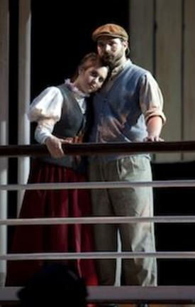 Michelle Bardach as Kate McGowan in Titanic the Musical - Theatre Under the Stars (TUTS) - 2012