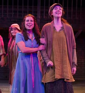 Michelle Bardach as Hope Cladwell in Urinetown the Musical - The Firehall Art Centre - Vancouver - 2014