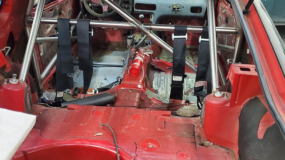 Drift car full chassis Wiring