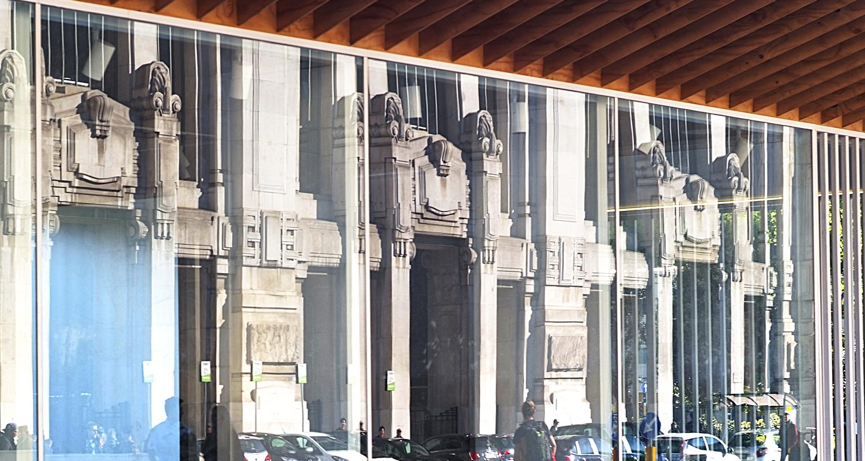 Riflessi - Stazione Centrale di Milano