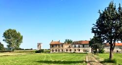 Cascina santa maria rosa - magenta rural landscape