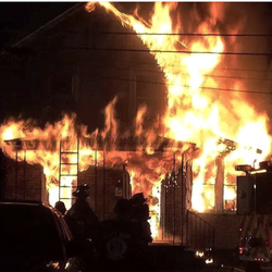West Pittston Fire 2014