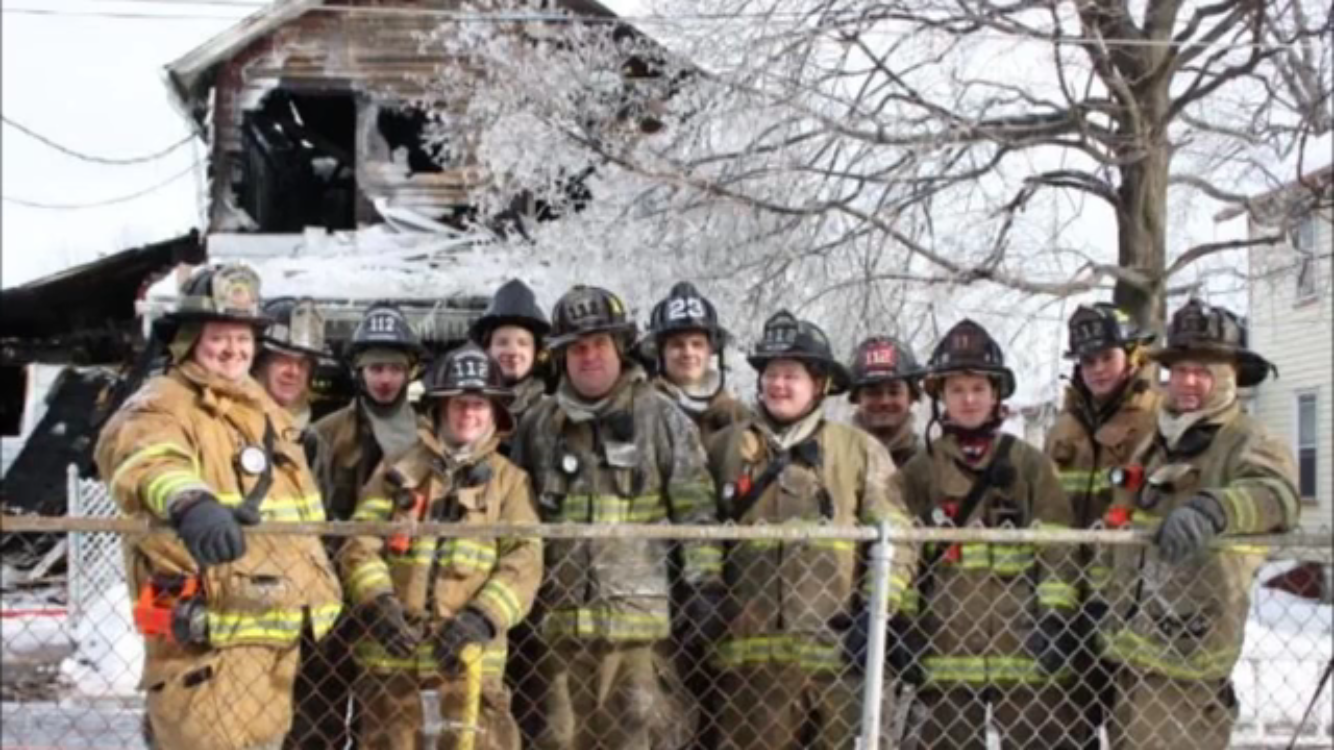 2/8/14 - Fire in Pittston City