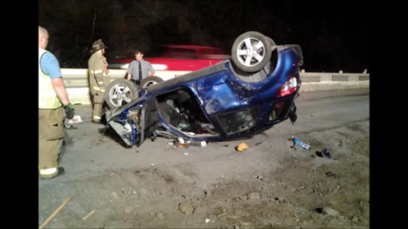 10/2/14 - Vehicle Rollover w Confine