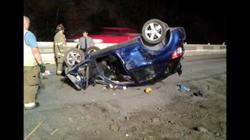 10/2/14 - Vehicle Rollover w Confine