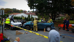 Mock Accident - Dupont - Oct. 2011