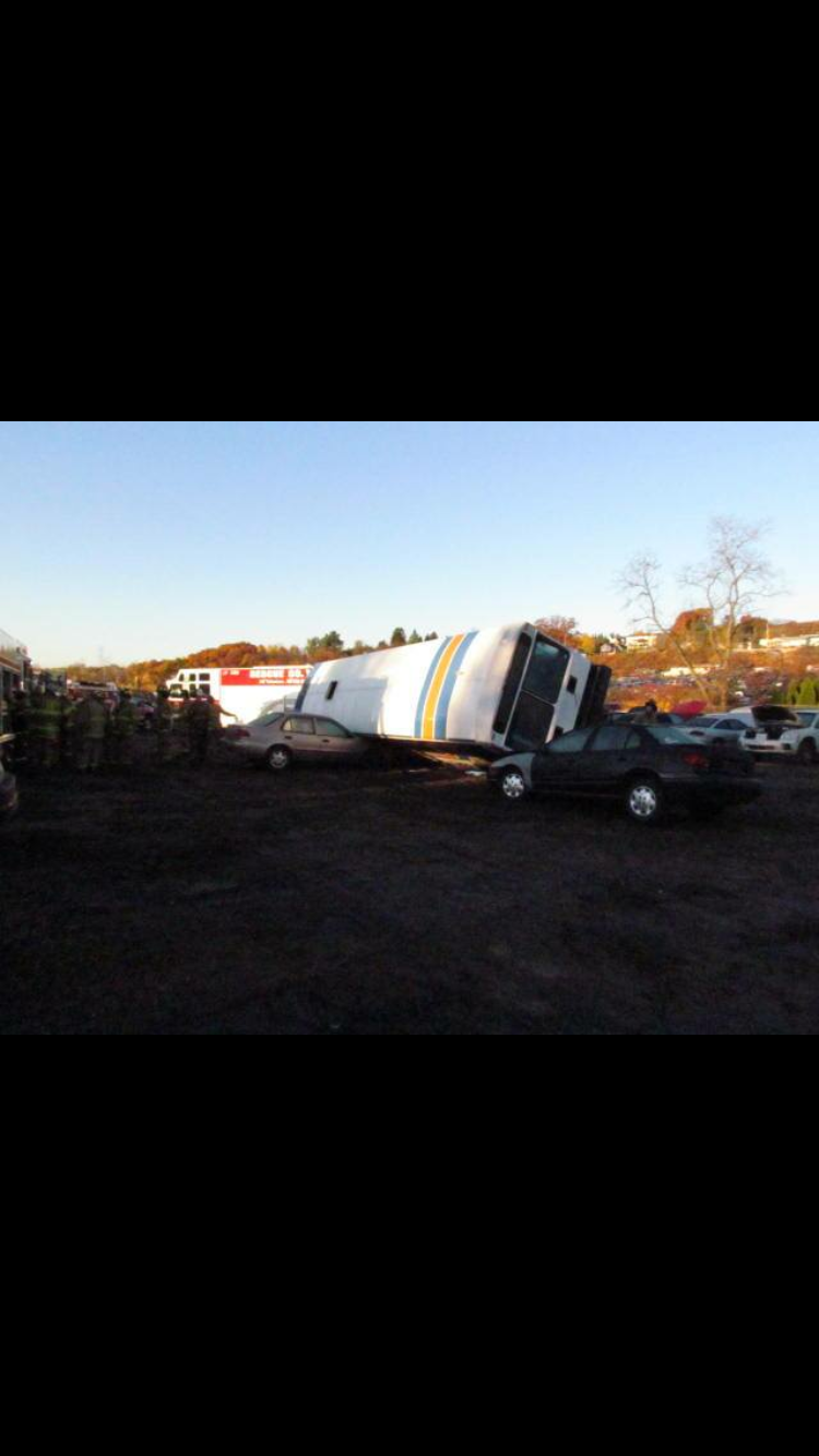11/5/16 - Bus Mock Accident Training
