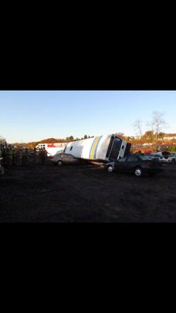 11/5/16 - Bus Mock Accident Training