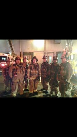 1/17/17 - Meshoppen Wareouse Fire