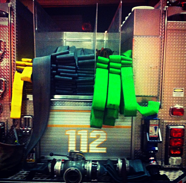 112 Engine Hose Bed