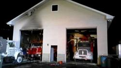11/10/14 - Garage Fire on Suscon Rd.