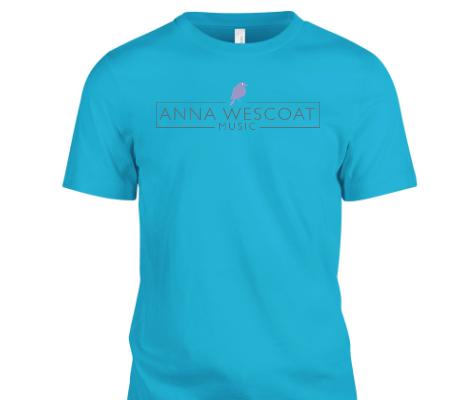 Anna Wescoat Music Shirt (Turquoise)