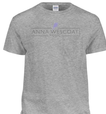 Anna Wescoat Music Shirt (Grey)