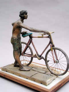 First Bicycle - ceramic