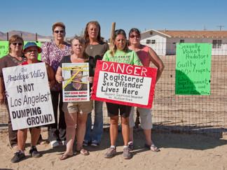 Lake Los Angeles Women against Sex Predators Group