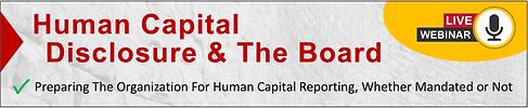 Human Capital Disclosure