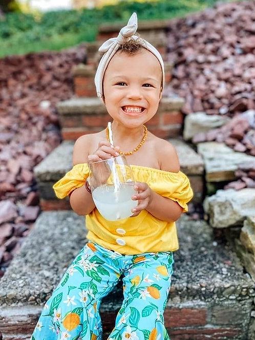 Sunshine & Lemons Ruffle Bottoms Outfit