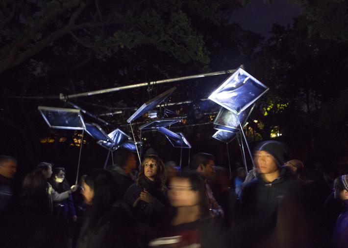 Canopy Art in the Dark 2014