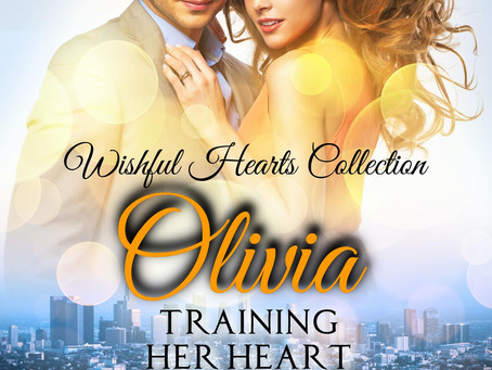 Training Her Heart: Olivia--Just a week away!