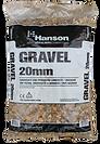 20mm gravel hanson 25kg