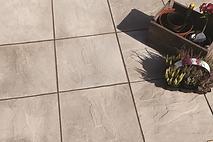 concrete riven paving slabs